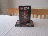 Assortment of DK Lego Star Wars Story Books