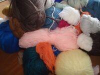 Kilo of knitting yarn