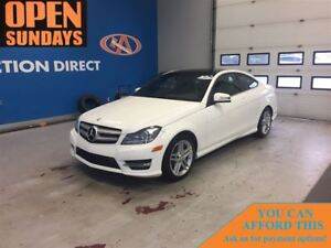 2013 Mercedes-Benz C-Class 250 GLASS ROOF! NAVI! FINANCE NOW!