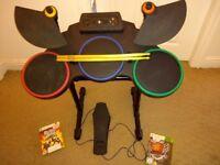 Guitar Hero Drum Kit & Games (Xbox 360)