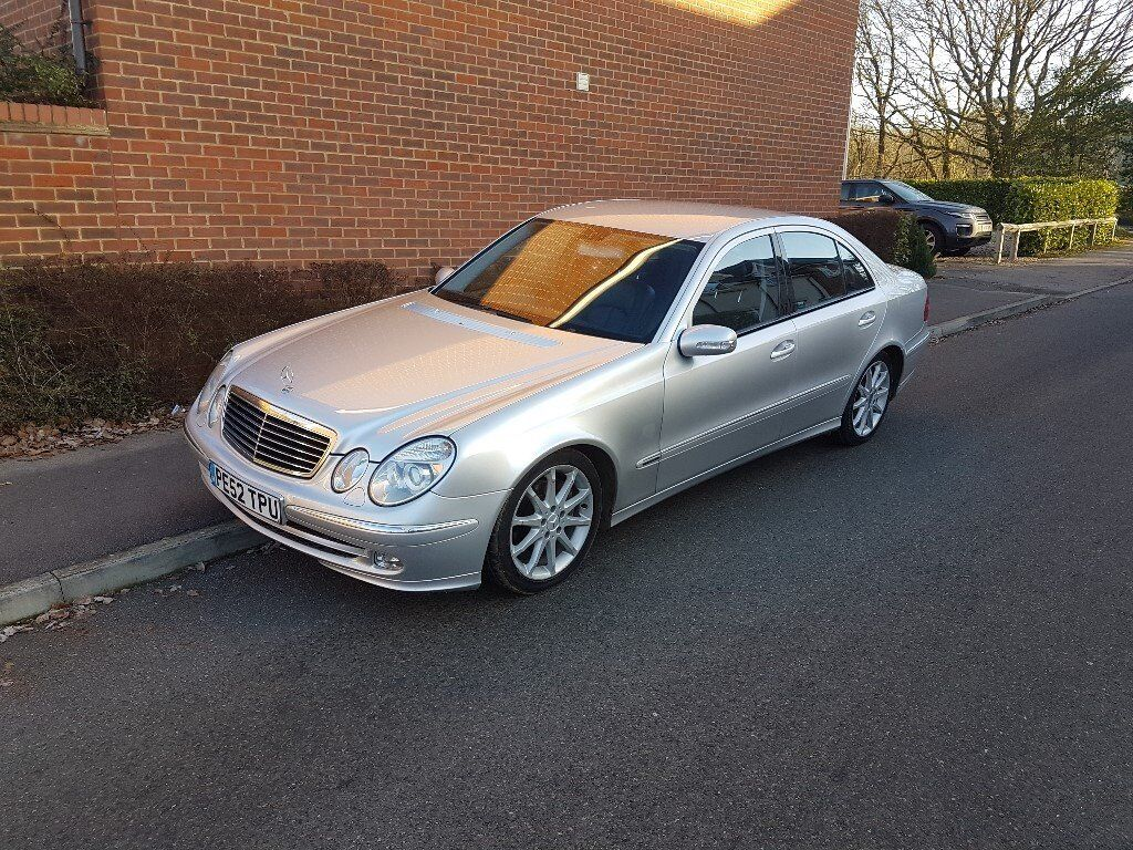 mercedes w211 e class 2 7 e270 cdi avantgarde spares or repair in wokingham berkshire gumtree. Black Bedroom Furniture Sets. Home Design Ideas