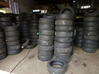 Part worn tyres from £15 fitted -New tyres also available
