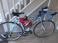 """FORME RAPIDE road bike 21""""or 53.3cm L/W Alloy frame mint condition"""