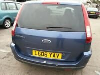 FORD FUSION 1.6 PLUS 56 REG 5DR HATCHBACK ALLOYS PRIVACY GLASS
