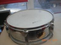 stagg 14 inch snare chrome