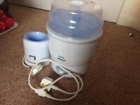 Philips Avent steriliser and bottle warmer