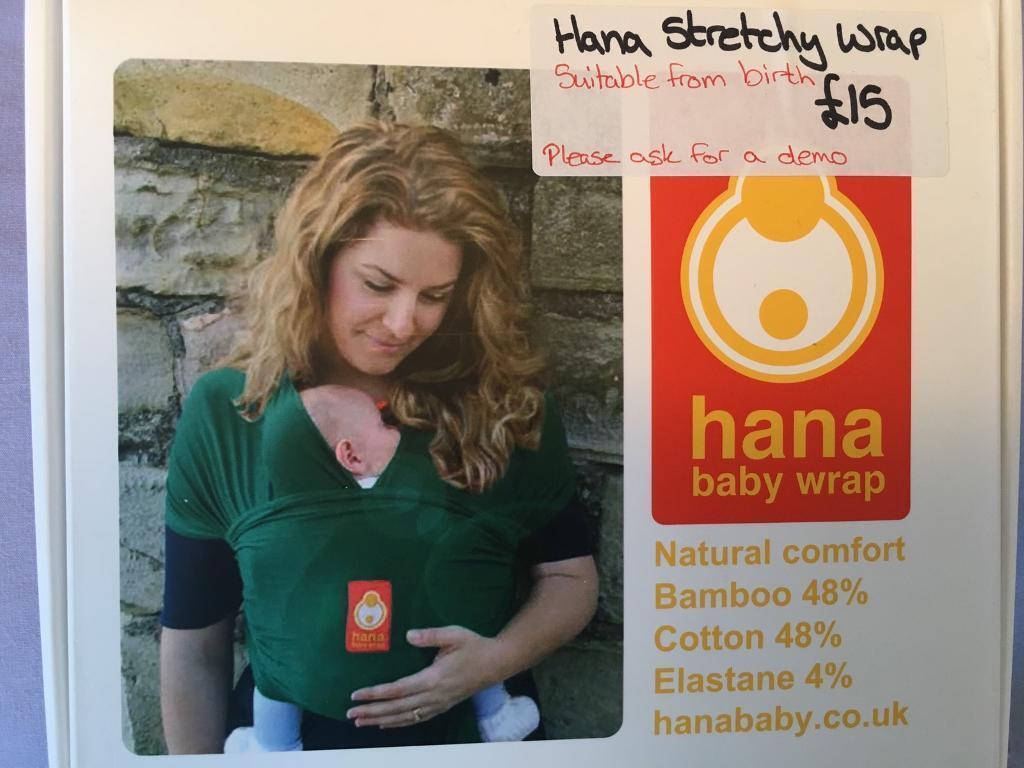Hana Baby Wrap See Foam Green In Burton On Trent Staffordshire