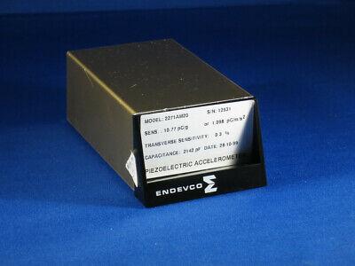 Endevco Piezoelectric Accelerometer Model 2271am20