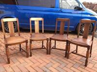 Oak chairs for project