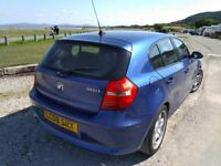 bmw 118d lovely economical car / £30 a year tax - 50+ mpg - 12 months mot