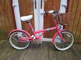 Girls bike 20 varsity