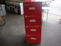 Red Filing Cabinets