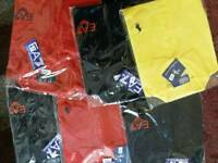 Brand new designer polo t shirts diff sizes available