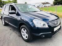 NISSAN QASHQAI PLUS TWO 2009 ***MOT NOVEMBER 2018***