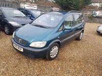 2001 Vauxhall Zafira 2.0 DTi 16v Comfort