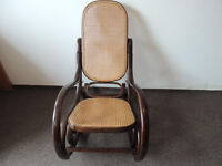 Bentwood rocking chair (delivery)