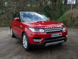 Land Rover Range Rover Sport SDV6 HSE (red) 2015-09-30