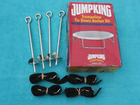 Jump King Trampoline Tie Down Anchor Restraint Kit