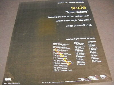 Sade love deluxe poster wall art home decoration photo print 24x24 inches