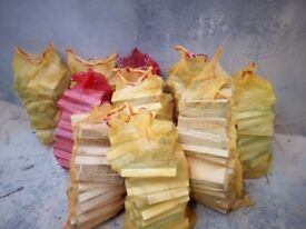 10 bags of wood