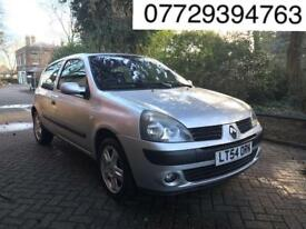 2005 Renault Clio 1.2 16v Dynamique 3dr # 1 YEARS MOT # NEW DISCS AND PADS # HPI CLEAN
