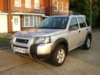 LAND ROVER FREELANDER TURBO DIESEL AUTOMATIC. BMW 2.0 ENGINE . SERVICED. IMMACULATE. 12 MONTHS MOT.