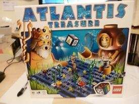 lego atlantis treasure game build and play in excellent condition