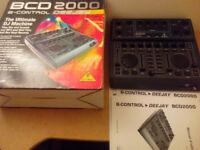 Beringher B-CONTROL DEEJAY BCD2000 Mixer