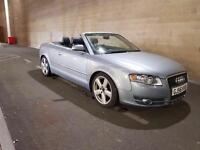 AUDI A4 2.0 TDI S LINE CONVERTIBLE 2006 not BMW 320i a3 a5 seat Leon golf cabriolet