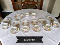 Royal Stafford Sweetpea tea set