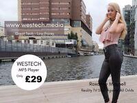 WESTECH - 32GB - MP3 - 6 Gen Nano Digital Media Player Music, eBooks, Pictures, Video - BRAND NEW
