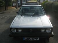 classic Mk1 Golf c 1.1 for sale