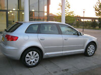 2007 audi a3 1.9 tdi diesel manual, special edition 5 door, silver, 1 owner, 82k, hpi clear 100%