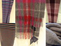 5 scarves - separately or all together