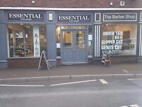 Hair Salon and Barber Shop For Sale. Double fronted shop on the main shopping street in Lydney