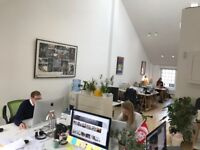 1-4 desk spaces available in airy loft - Shoreditch, Rivington Street