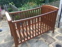 Mamas and papas cot/child's bed