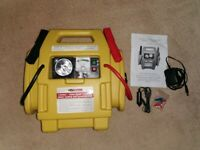 Jump Starter With 250psi Air Compressor