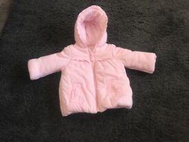 3-6 month baby girl coat