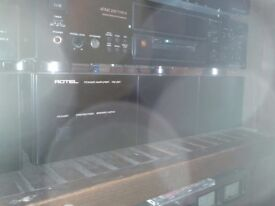 Rotel RB981 POWER Amplifier very good working condition