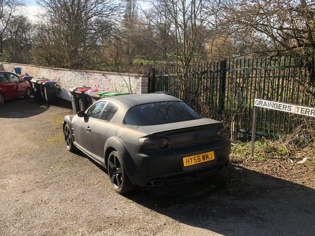 SOLD!! Mazda Rx8 231 PS spares or repair  £349 ono no MOT not sure if it  starts  | in Hucknall, Nottinghamshire | Gumtree