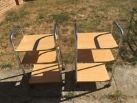 Pair of storage trolleys - 30 ONO