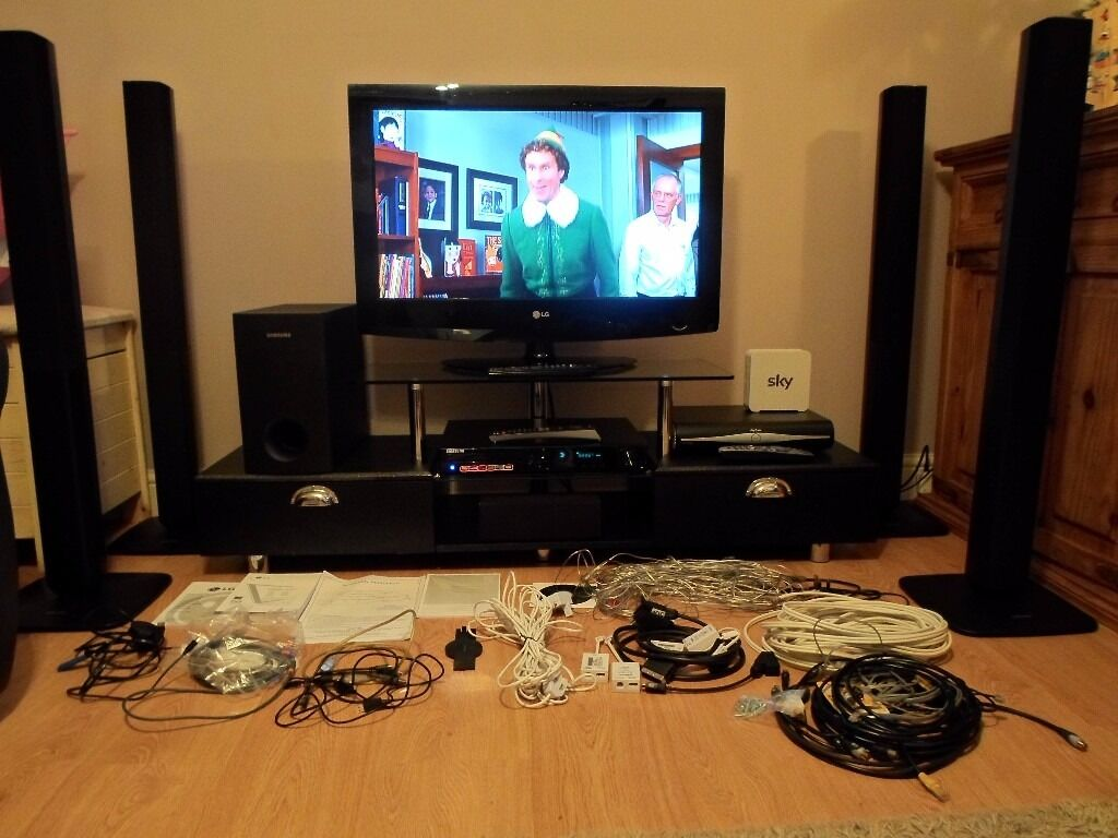 home cinema lg surround sound buy or sell find it used. Black Bedroom Furniture Sets. Home Design Ideas