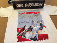 ** SIGNED ONE DIRECTION (1D) T-shirt - £100 **