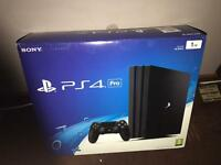 Playstation 4 Pro 1tb brand new