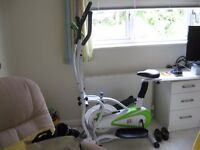 CROSS TRAINER EXERSIZER ELLIPTIOAL BIKE F.4.H SUPER AS NEW CONDITION