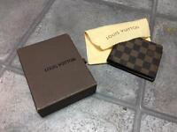 LOUIS VUITTON WALLET BROWN - LV WALLET