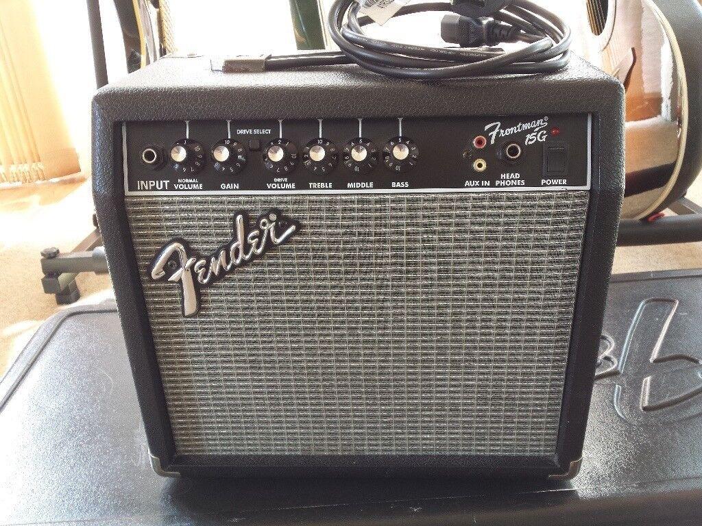 Fender Frontman 15G - 15 Watt Electric Guitar Amplifier
