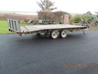 Wessex vehicle tilt trailer