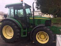 JOHN DEERE 5820 4WD TRACTOR